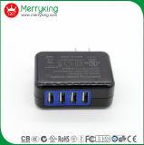 Viajes inicio aparato 5V 4.2A USB 4 PUERTOS USB para montaje en pared Multi Adaptador de CA para EE.UU.