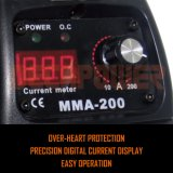 MMA-120 110V/220V 직업적인 아크 용접공 MMA 지팡이 용접 기계