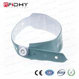 Fabricante China profesional 13.56MHz PVC Pulsera RFID HF