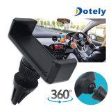 Carrinho universal de giro do berço do telefone móvel 360 do suporte da montagem do carro do respiradouro de ar