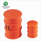 La fumée de silicone Baril&Cigarette électronique tambour à huile avec la forme ronde