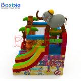 Opblaasbaar het Springen Bouncy Kasteel, Opblaasbare Uitsmijter met Dia