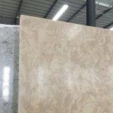Brame d'or de pierre de quartz de marbre d'érable pour la partie supérieure du comptoir
