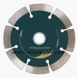 La hoja de sierra de diamante de buena calidad Disco de corte de piedra de mármol, granito ladrillo Concerte