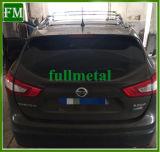 SUV de alumínio porta-bagagens de tejadilho encaixa 2014-2017 Nissan Qashqai