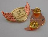 Cadeau promotionnel fait sur commande, or annonçant l'insigne (GZHY-CY-015)