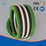 El embalaje Vee de la tela se utiliza normalmente para las aplicaciones de alta presión