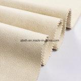 La crema superiore di vendita 2018 ha lavorato a maglia l'assomigliare del tessuto a cuoio per il sofà (YN007)