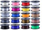 Filamento amigável da impressora de Envirnement 1.75mm PLA/ABS/Wood 3D da multi cor
