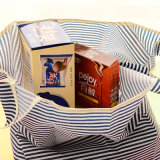 Sacs amicaux imperméables à l'eau se pliants portatifs de mémoire d'Eco de sac d'emballage d'épicerie de supermarché de sac à provisions grands
