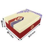 Crear el rectángulo de zapato para requisitos particulares impreso del papel acanalado de Kraft del regalo de la insignia