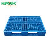 A utilização dos dois lados e paletes de plástico de HDPE