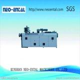 Máquina de extrusión de polímeros para tubería de PVC extrusionadora de husillo cónico doble