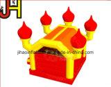 Neue Entwurfs-Fackel-Haus-kommerzielle aufblasbare Flamme-springender Prahler