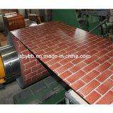 Cor de aço galvanizado revestido a folha de coberturas metálicas da bobina de aço galvanizado a folha de tejadilho