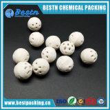 sfere di ceramica porose dell'allumina di 3mm 6mm per i media di sostegno