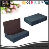 高い販売の黒い革ボール紙のワインボックス(5185)