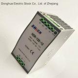 DC DIN 가로장 모형 스위치에 Hdr-120-24 AC는 DC 24V 5A에 88-132 VAC/176-264VAC를 전력 공급