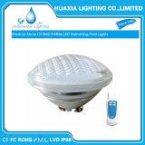 Luz subacuática impermeable de la piscina de la lámpara de IP68 12V 18W 24W 35W PAR56 LED