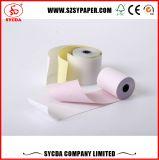 roulis de papier de caisse comptable de Rolls de papier autocopiant de 3ply 55g
