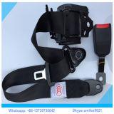 Negro 3 puntos de seguridad del retractor del cinturón de seguridad para el bus