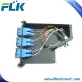 MTP/MPO Module van de Cassettes van de Vezel van Sc de Optische