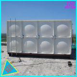 Tanque de armazenamento plástico cúbico da água de SMC FRP GRP