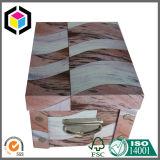 Het vouwen van het Vakje van de Opslag van het Document van de Gift van het Karton met het Handvat van het Metaal