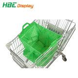 Einfacher Einkaufswagen-Beutel für Einkaufswagen-Laufkatze