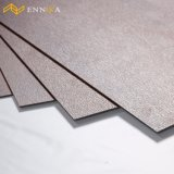 Einfache Pflege-wasserdichtes Marmorkorn Belüftung-Vinylklicken-Bodenbelag-Blatt