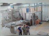 열경화성 분말 페인트 생산 기계장치 선