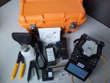 Splicer de fibra óptica de emenda da fusão da máquina da telecomunicação do equipamento da multi finalidade da manufatura