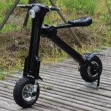 Scooter elétrico dobrável com 13'' oculto dos pneus de gordura e bateria de lítio