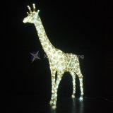 照明表示および休日の装飾のために防水キリン3Dのモチーフライト