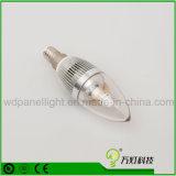 Lámpara de interior ahorro de energía del bulbo de la luz de bulbo de la vela de E12 3W LED E14 LED