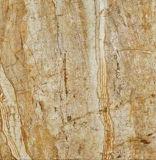 建築材料の十分に磨かれた艶をかけられたタイルに床を張る白い大理石の一見の磁器