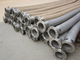 Aço inoxidável resistente a mangueira de metal flexível com capa trançada