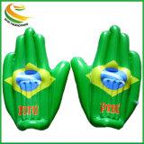 PE incoraggiante gonfiabile di sport all'ingrosso delle mani o TPU per la partita di football americano