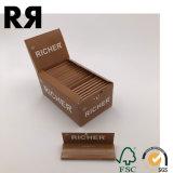 Papel de balanceo ultra fino de la calidad de Rizla que fuma con el sello del imán