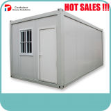 Casa modular Prefab do recipiente do bloco liso