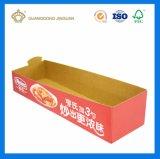 Boîte de présentation de papier ondulé (crémaillère d'étalage de cadre de papier de F-Cannelure)