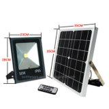 50W Projecteur solaire haute luminosité de l'éclairage de rue de jardin avec télécommande