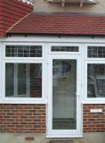 Pnoc080224ls Badezimmer-Entwurfs-Schwingen-Tür mit bereiftem Glas