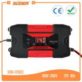 Suoer 12V 10A coche solar cargador de batería automática con Ce (hijo-1210CE)