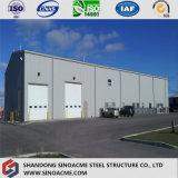 Almacenaje prefabricado garantizado de la construcción vertido/edificio con el panel de la fibra de vidrio