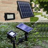 Luz impermeável solar de controle remoto da decoração da paisagem do diodo emissor de luz RGB de Llight 20 do gramado do jardim