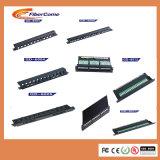 Gerencia portuaria óptica del cable del metal 24 portuarios ópticos profesionales de los productos de fibra