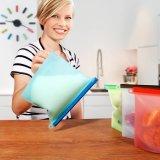 卸し売りBPAは食糧記憶のための再使用可能な食品保存の節約器の容器のシリコーンの食糧袋を放す