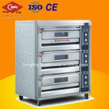 Forno elettrico 2017 di cottura di vendite 3 di Hongling del cassetto caldo della piattaforma 6