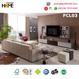La moderna sala de estar sofá de cuero seccionales (CSC01).